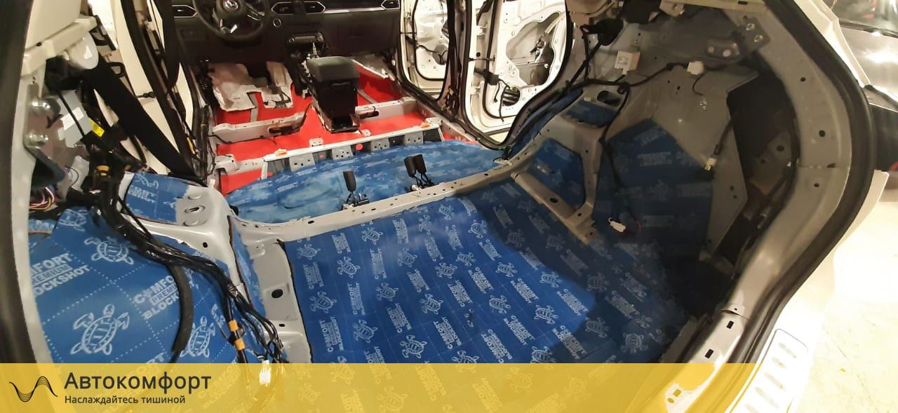 Шумоизоляция багажника Mazda CX5 (Мазда СХ5)