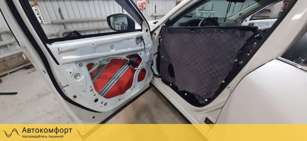 Шумоизоляция дверей Mazda CX5 (Мазда СХ5)