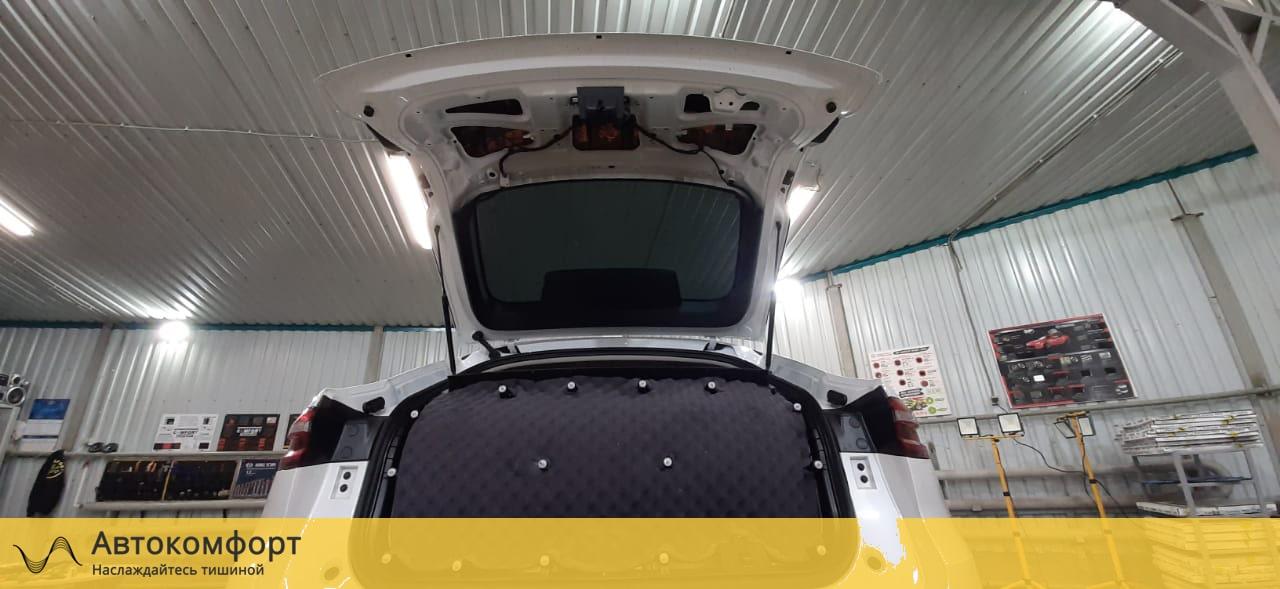 Шумоизоляция крышки багажника Haval F7x (Ф7)