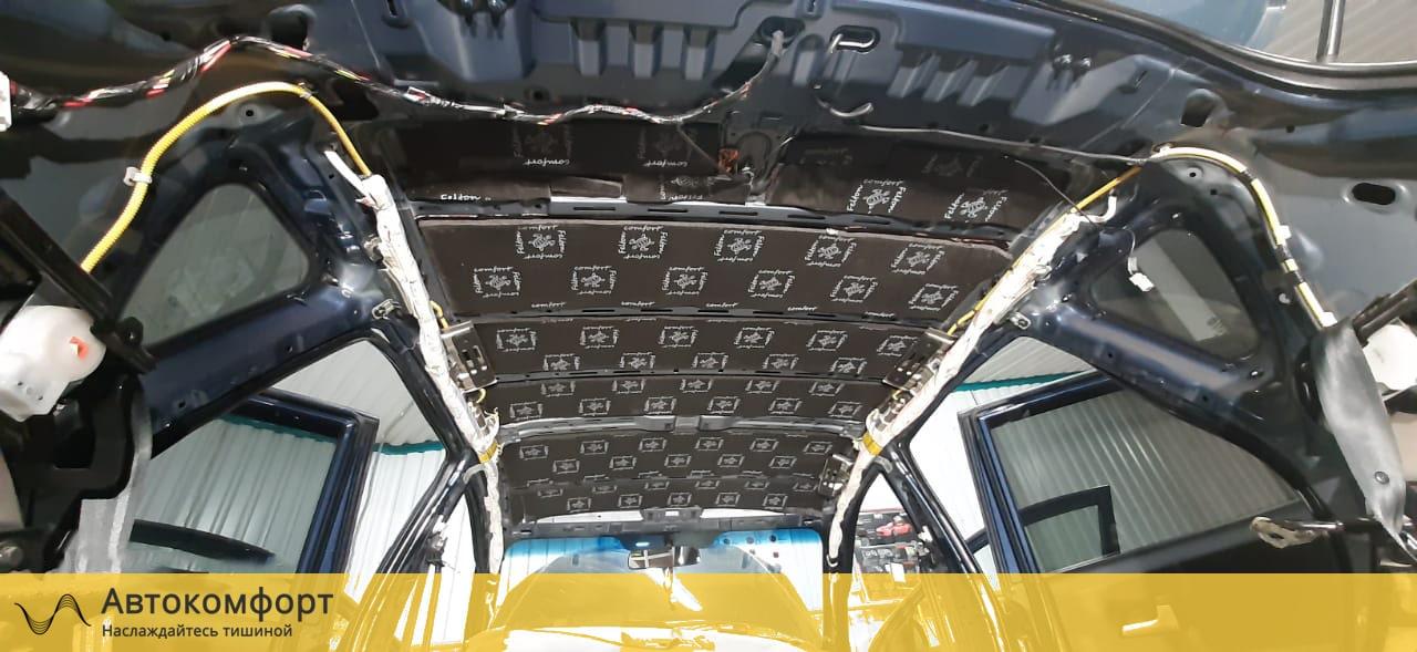 Шумоизоляция крыши (потолка) KIA Ceed 2 (КИА Сид 2)
