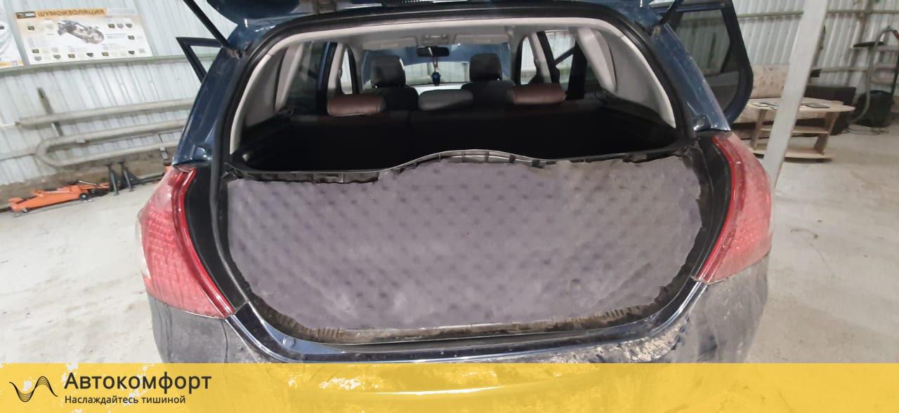 Шумоизоляция крышки багажника KIA Ceed 2 (КИА Сид 2)
