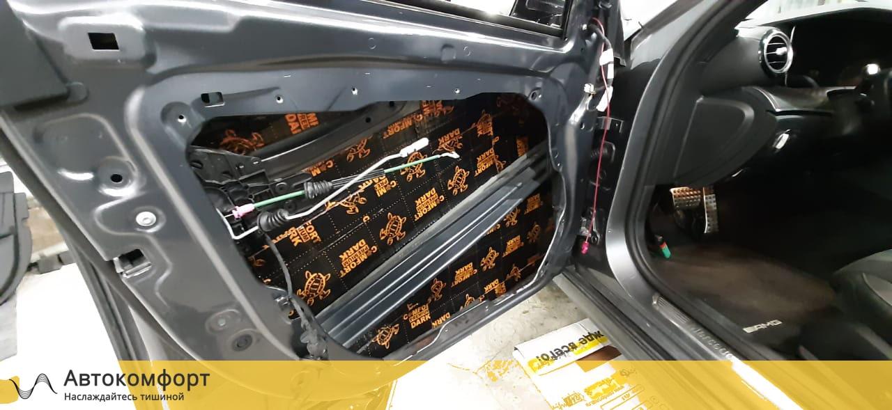 Шумоизоляция дверей Mercedes E Class W213 (Е класс)