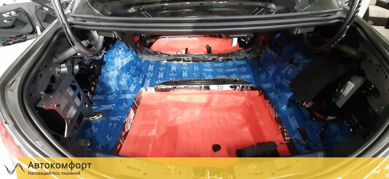 Шумоизоляция багажника Mercedes E Class W213 (Е класс)