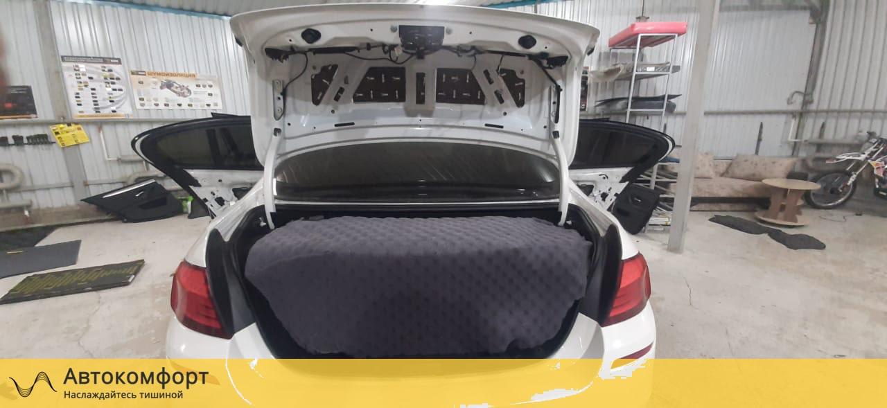 Шумоизоляция крышки багажника BMW 5 F10 (5 серии Ф10)