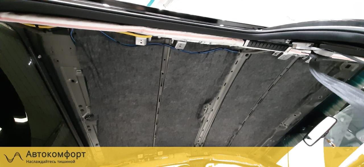 Шумоизоляция крыши (потолка) Kia Cerato 3 III 2015