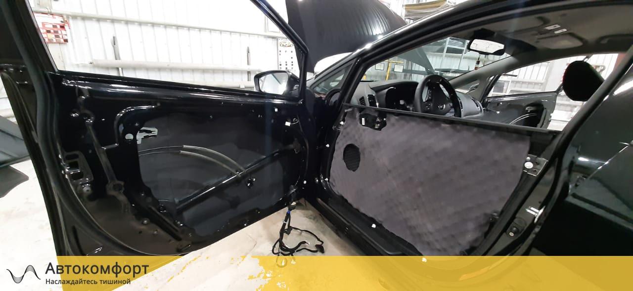 Шумоизоляция дверей Kia Cerato 3 III 2015