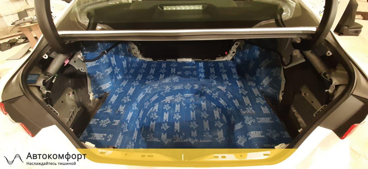 Шумоизоляция багажника Toyota Camry V70 (Тойота Камри В70)