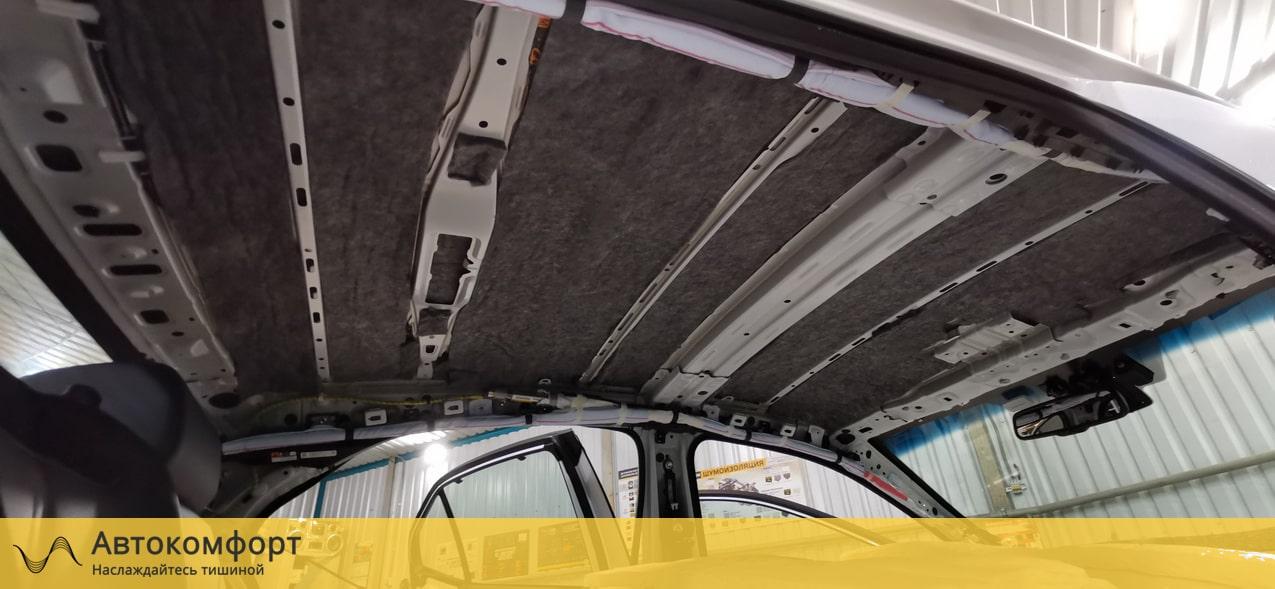 Шумоизоляция крыши (потолка) Toyota Camry V70 (Тойота Камри 70)