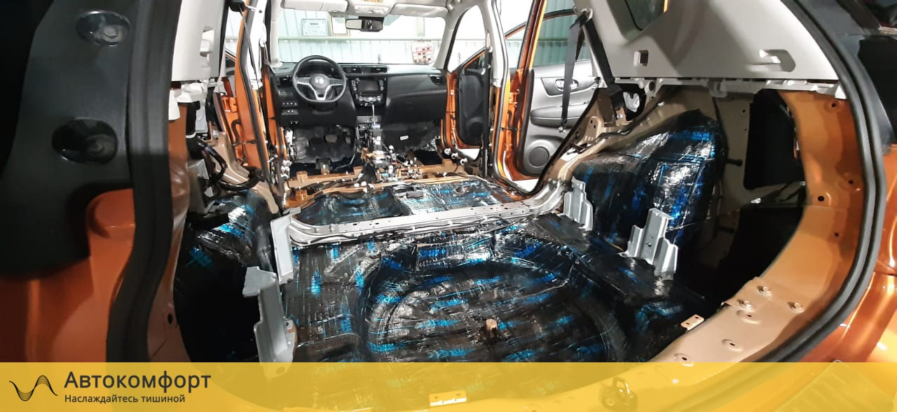 Шумоизоляция багажника Nissan X-Trail T32 (Ниссан Икс Трейл Т32)