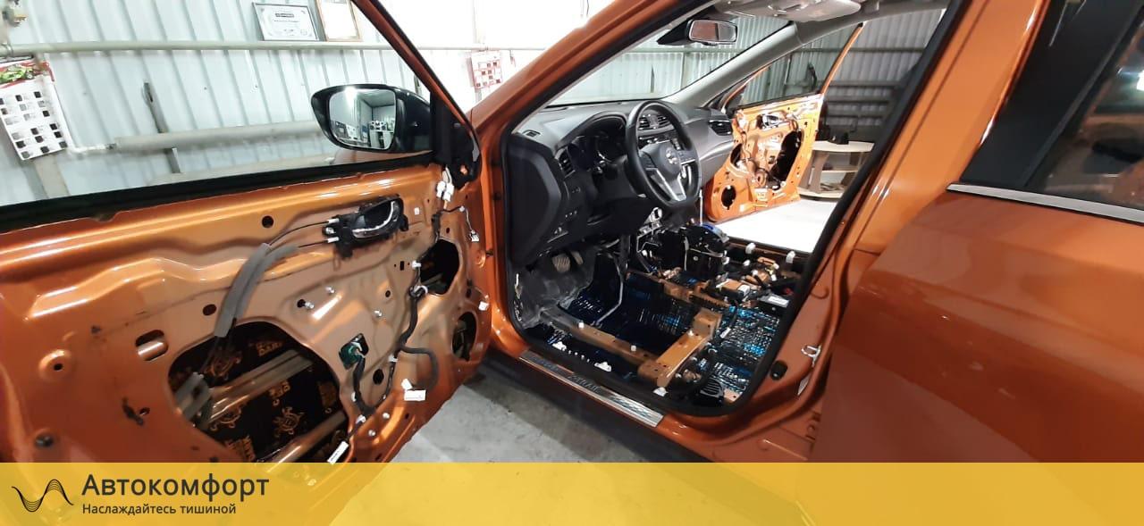 Шумоизоляция дверей Nissan X-Trail T32 (Ниссан Икс Трейл Т32)
