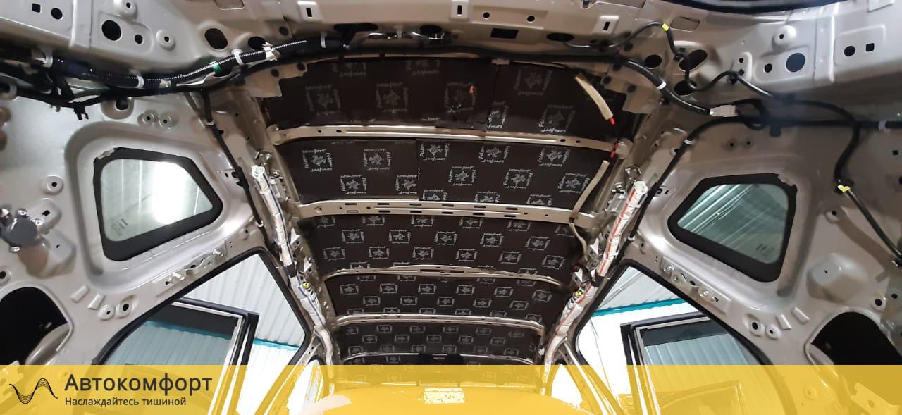 Шумоизоляция крыши (потолка) Nissan X-Trail T32 (Ниссан Икс Трейл Т32)