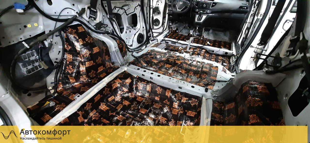 Шумоизоляция багажника Honda CRV 4 (Хонда СРВ 4)