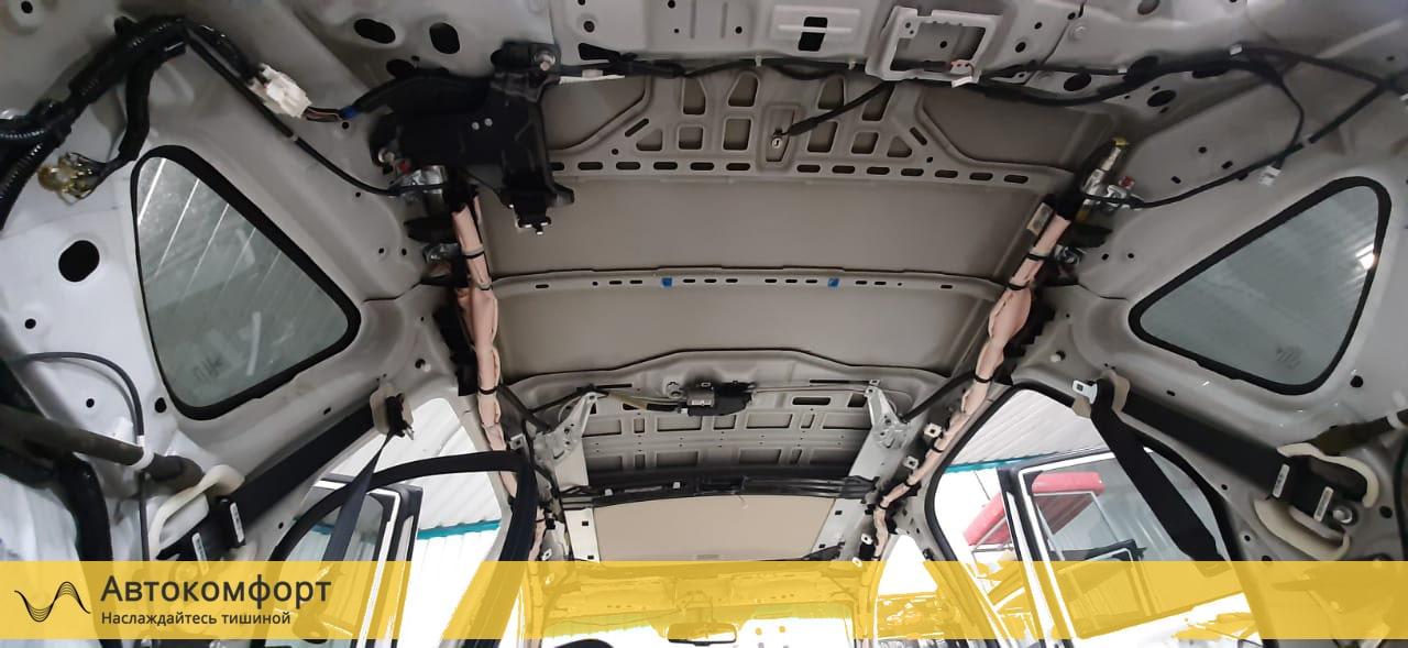 Шумоизоляция крыши (потолка) Honda CRV 4 (Хонда СРВ 4)