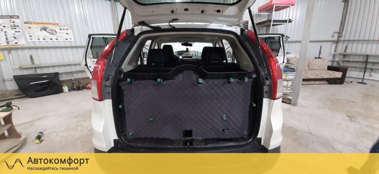 Шумоизоляция крышки багажника Honda CRV 4 (Хонда СРВ 4)