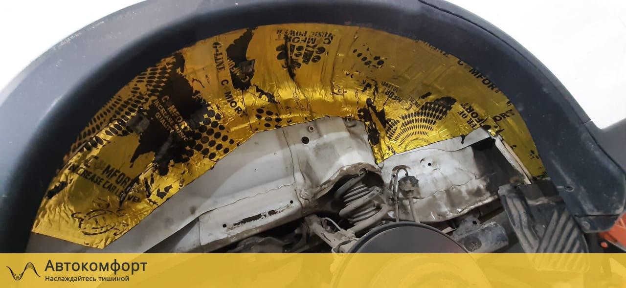 Шумоизоляция арок и подкрылок Honda CRV 4 (Хонда СРВ 4)