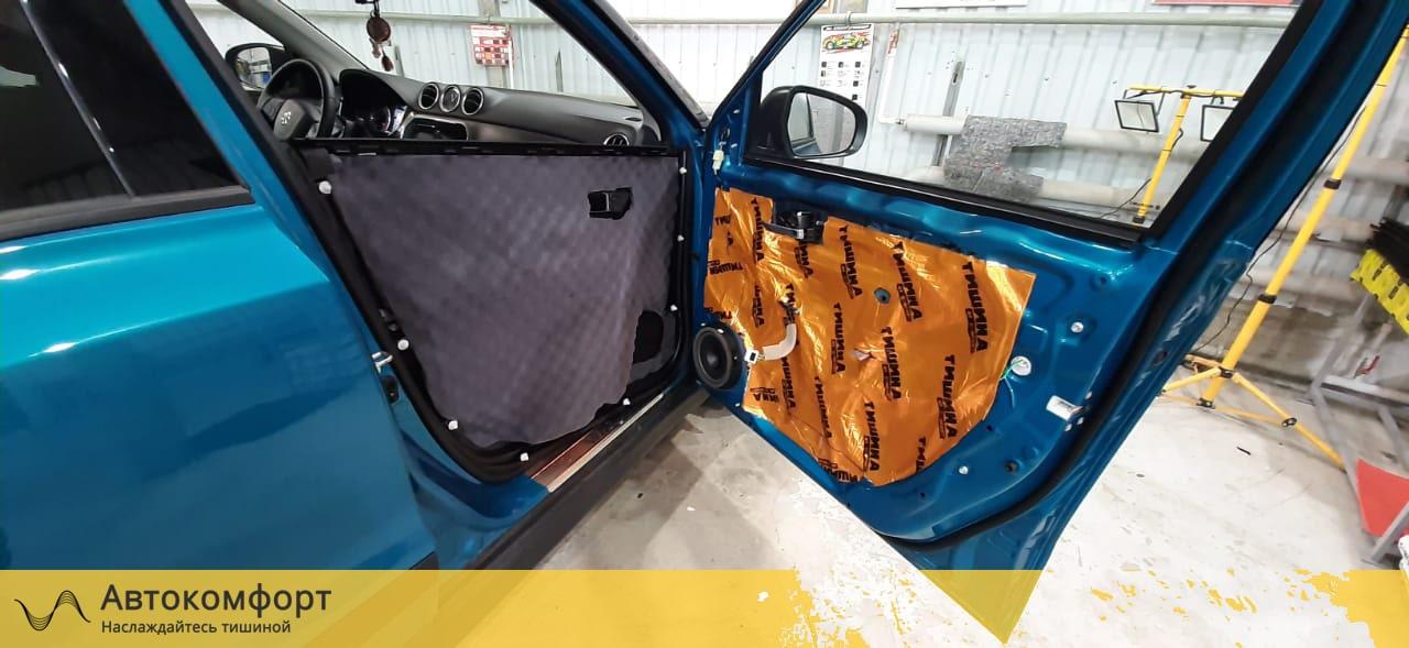 Шумоизоляция дверей Suzuki Vitara (Сузуки Витара 3)