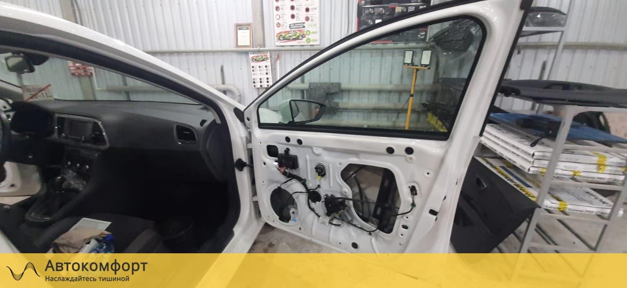 Шумоизоляция дверей Seat Leon 3 MK3 (Сеат Леон МК3)
