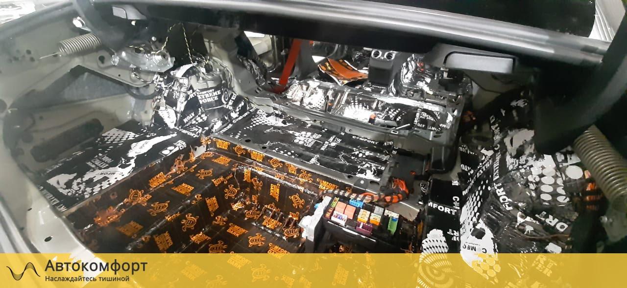 Шумоизоляция багажника Mercedes C Class W205 (Ц класс)