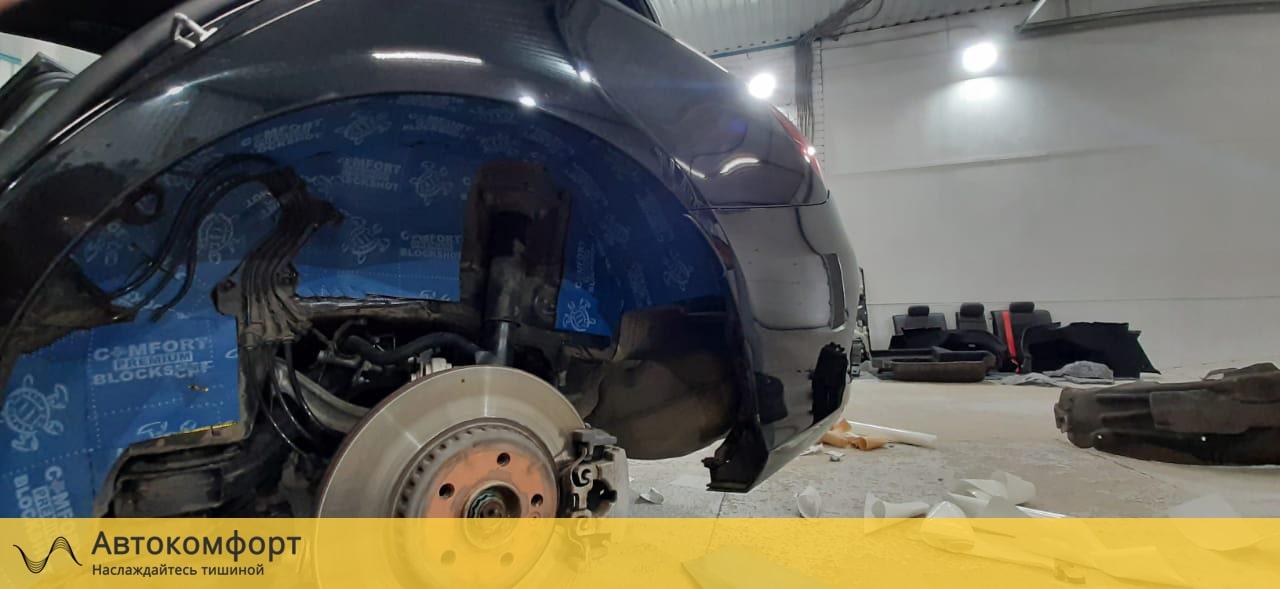Шумоизоляция арок и подкрылок Mercedes C Class W205 (Ц класс)