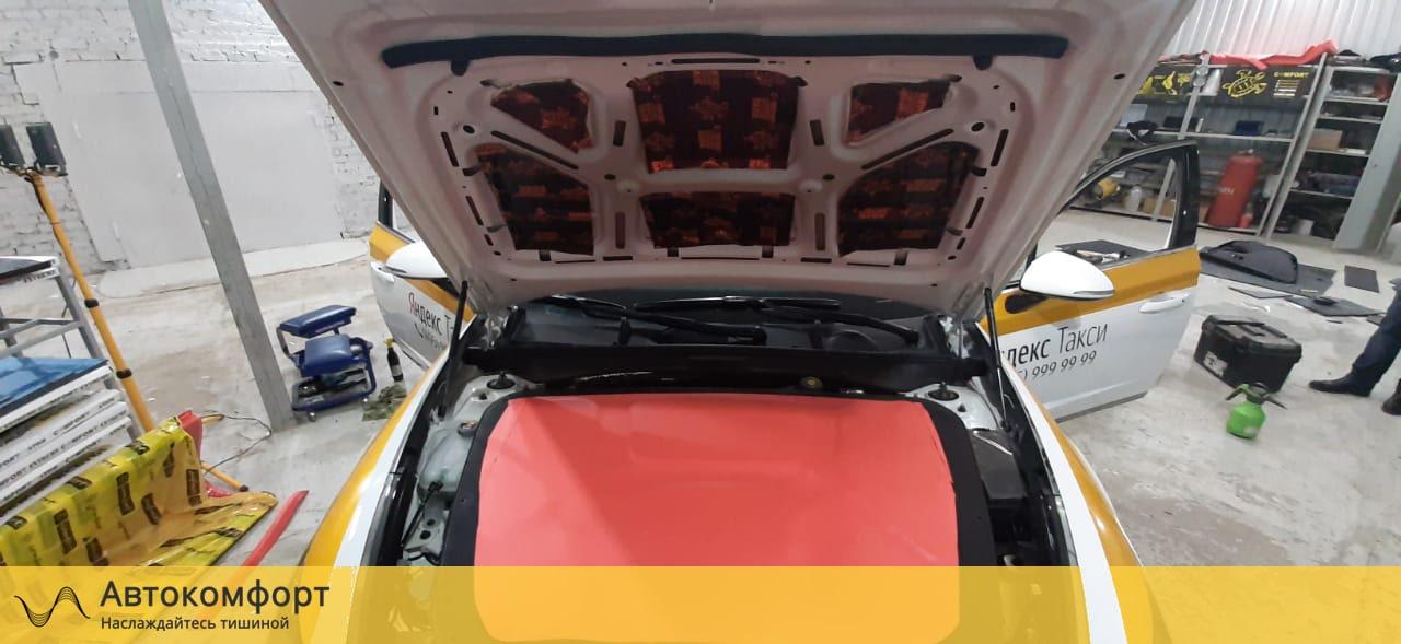 Шумоизоляция капота Hyundai Sonata 8 DN8 | Хендай Соната 8
