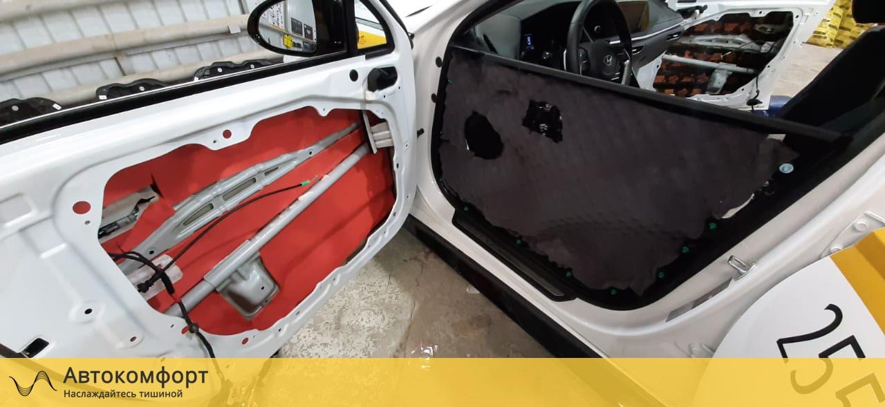Шумоизоляция дверей Hyundai Sonata 8 DN8 | Хендай Соната 8