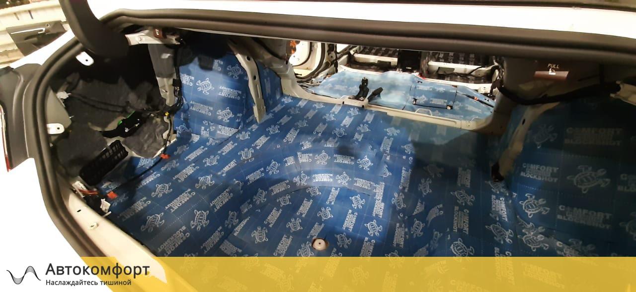 Шумоизоляция багажника Hyundai Sonata 8 DN8 | Хендай Соната 8