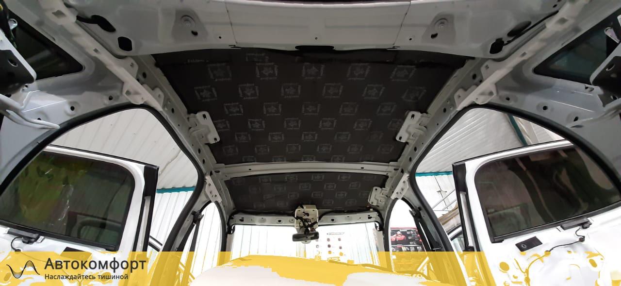 Шумка крыши Renault