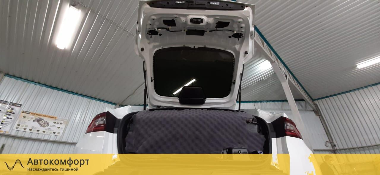 Звукоизоляция багажника Renault Arkana