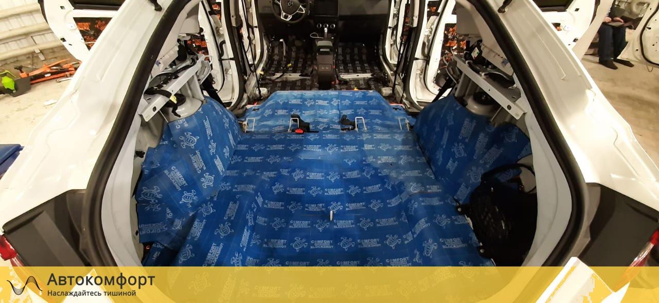 Шумка багажника рено аркана