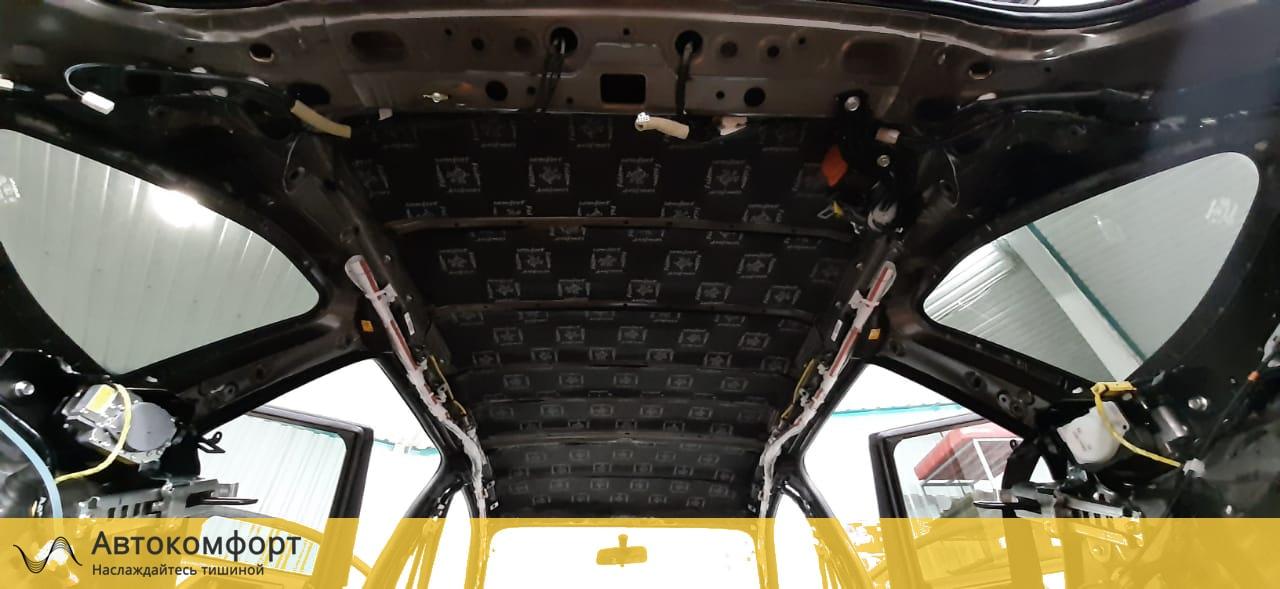 Шумоизоляция потолка (крыши) Subaru Outback 5 BS (Аутбек 2020)