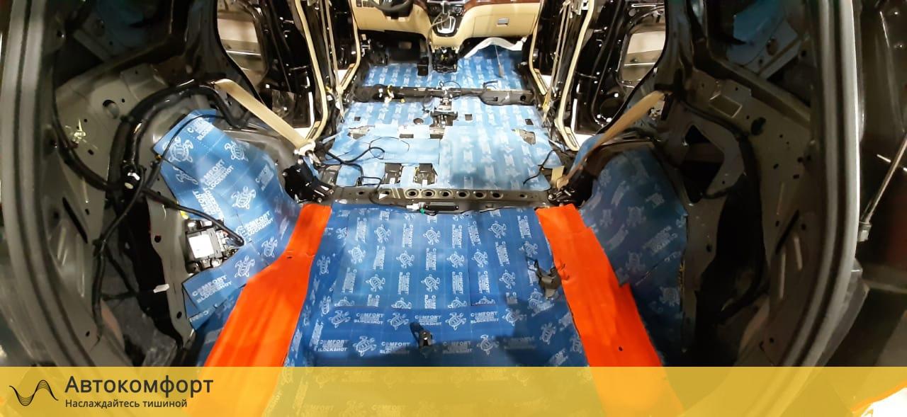 Шумоизоляция багажника Haval H6 (Хавейл H6)