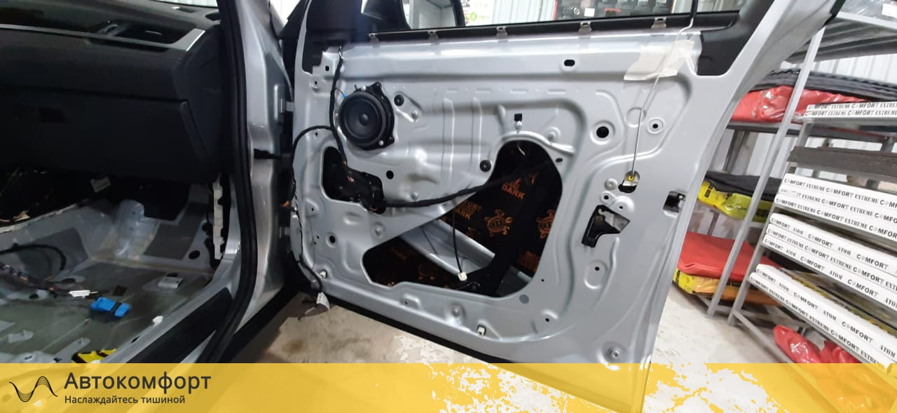 Шумоизоляция BMW X2 F39 (БМВ Ф39)