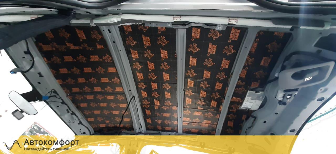 Шумоизоляция потолка (крыши) BMW X2 F39 (БМВ Ф39)