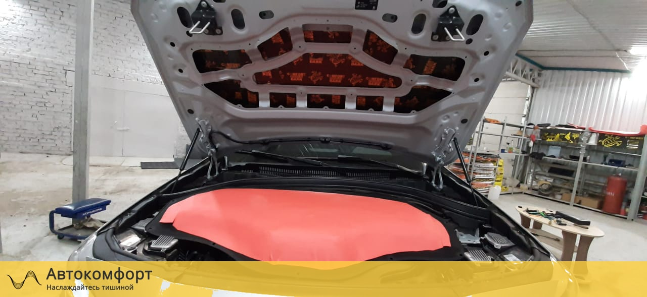 Шумоизоляция капота BMW X2 F39 (БМВ Ф39)