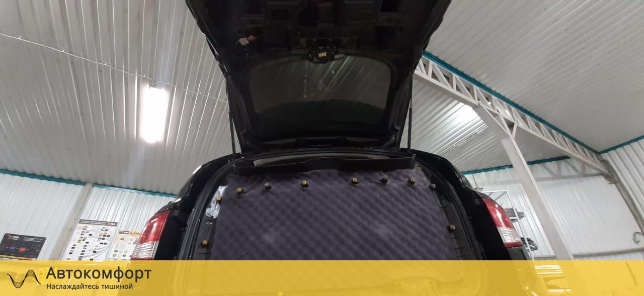 Шумоизоляция багажника SsangYong Kyron | Санг Енг Кайрон