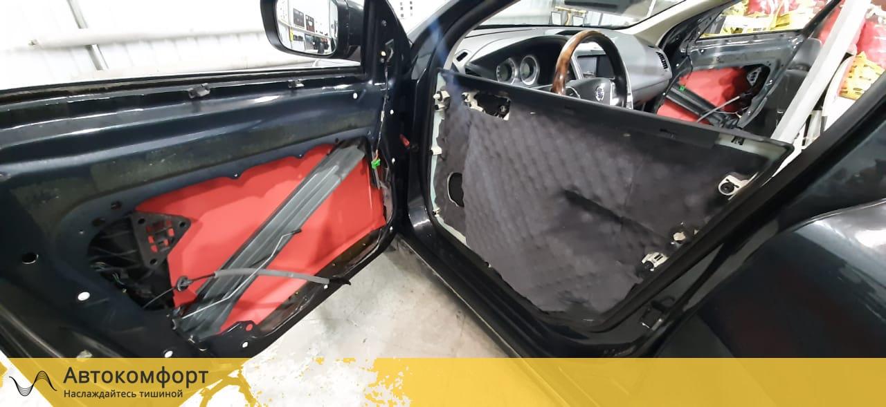 Шумоизоляция дверей Volvo XC60 | Вольво ХС60