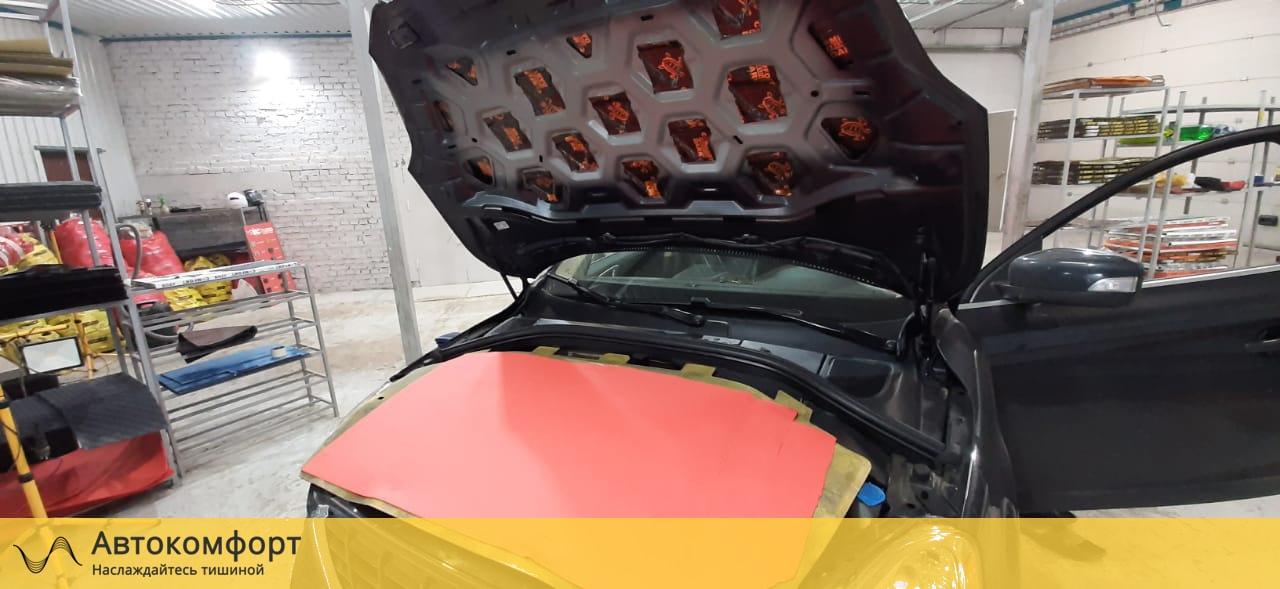 Шумоизоляция капота Volvo XC60 | Вольво ХС60