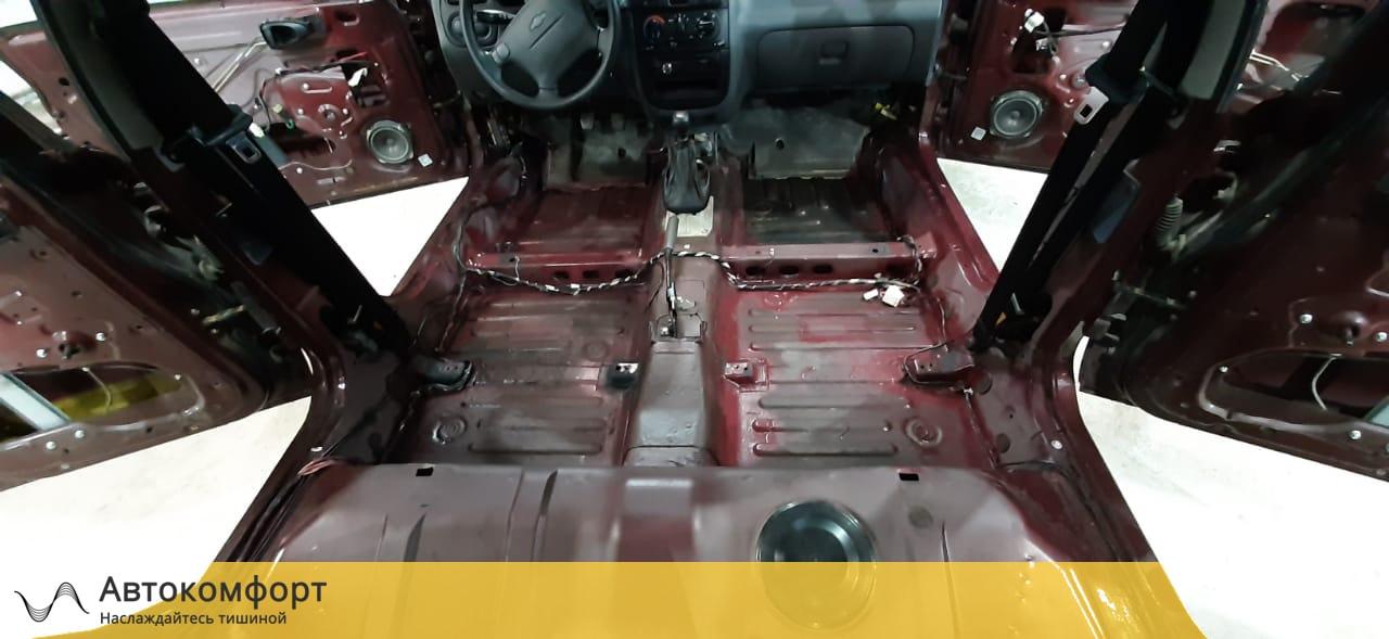 Шумоизоляция пола (днища) Chevrolet - Daewoo Lanos | Шевроле - Дэу Ланос