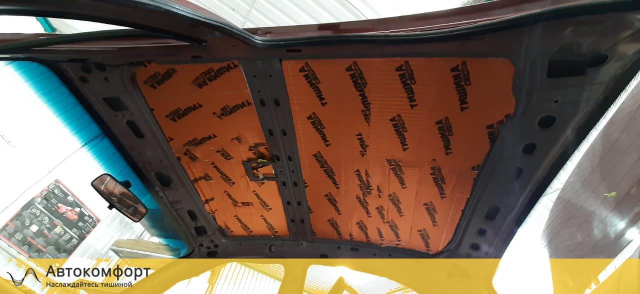 Шумоизоляция потолка (крыши) Chevrolet - Daewoo Lanos | Шевроле - Дэу Ланос