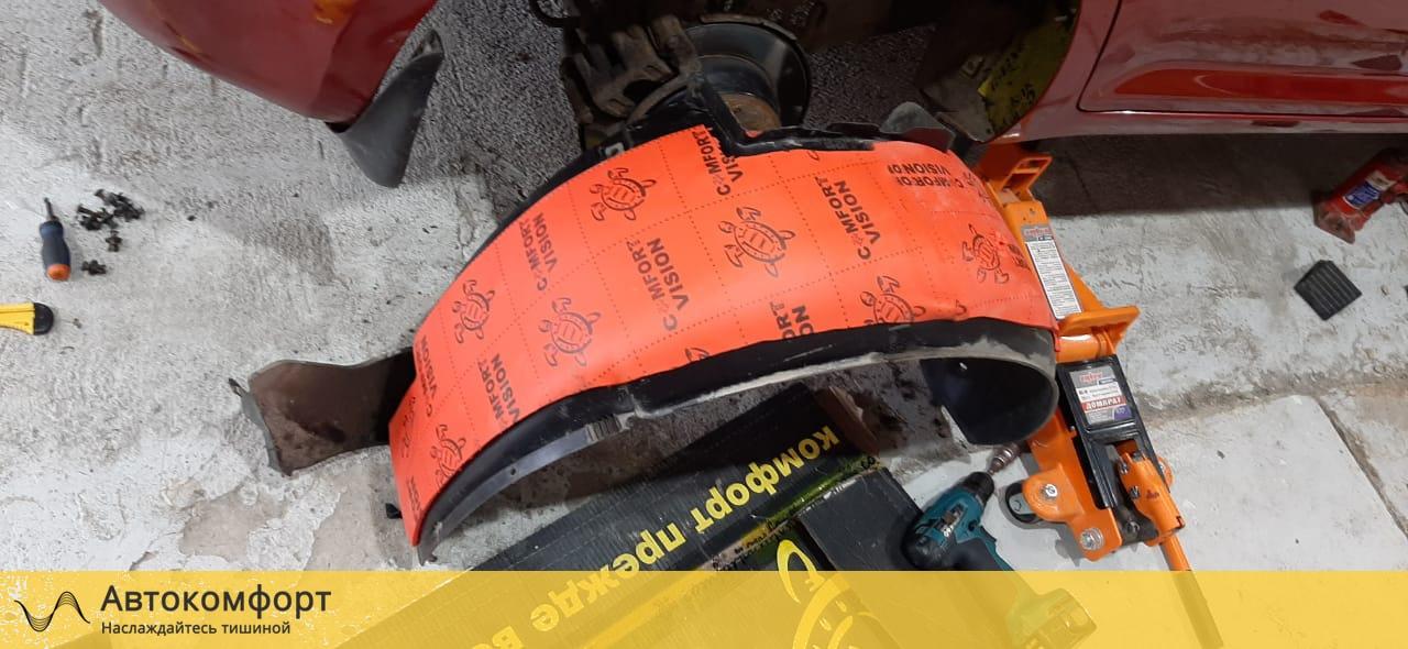 Шумоизоляция колесных арок и подкрылок Chevrolet - Daewoo Lanos | Шевроле - Дэу Ланос