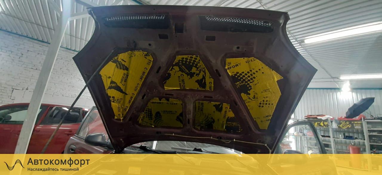 Шумоизоляция капота Chevrolet - Daewoo Lanos | Шевроле - Дэу Ланос