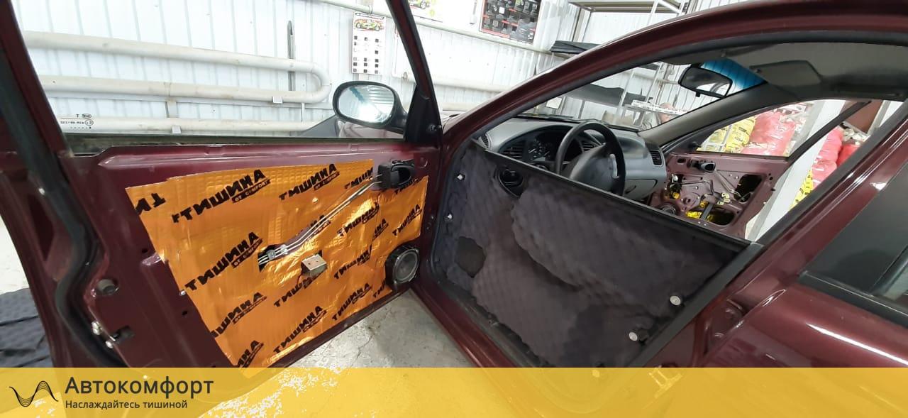 Шумоизоляция дверей Chevrolet - Daewoo Lanos | Шевроле - Дэу Ланос
