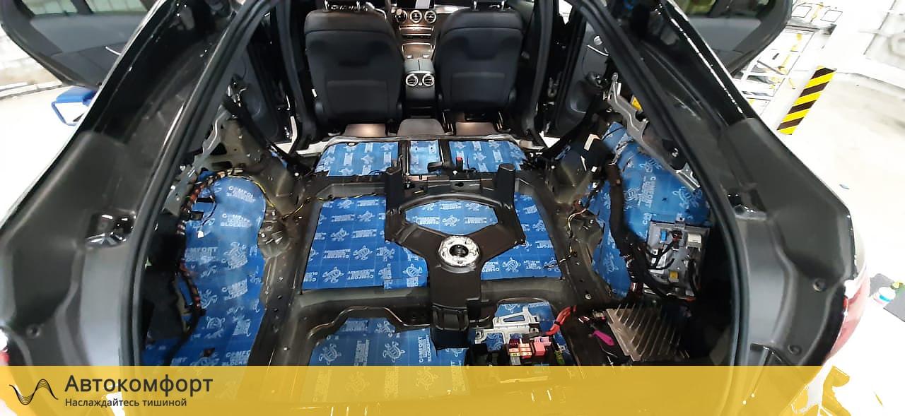 Шумоизоляция багажника Mercedes GLC Coupe X253 / C253 | Мерседес ГЛЦ Купе