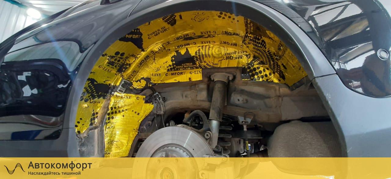 Шумоизоляция арок и подкрылок Mercedes GLC Coupe X253 / C253 | Мерседес ГЛЦ Купе