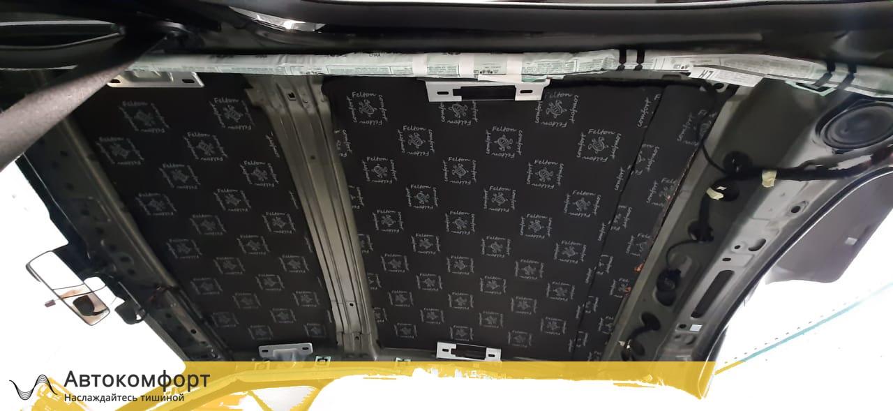 Шумоизоляция потолка (крыши) Mercedes GLC Coupe X253 / C253 | Мерседес ГЛЦ Купе