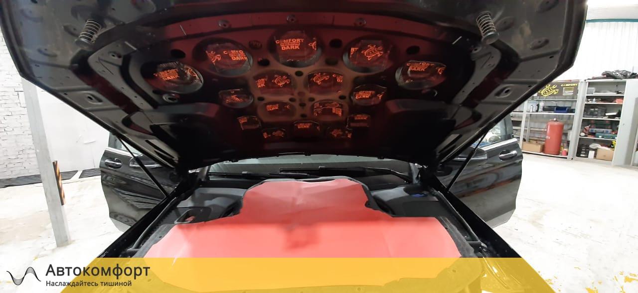 Шумоизоляция капота Mercedes GLC Coupe X253 / C253 | Мерседес ГЛЦ Купе