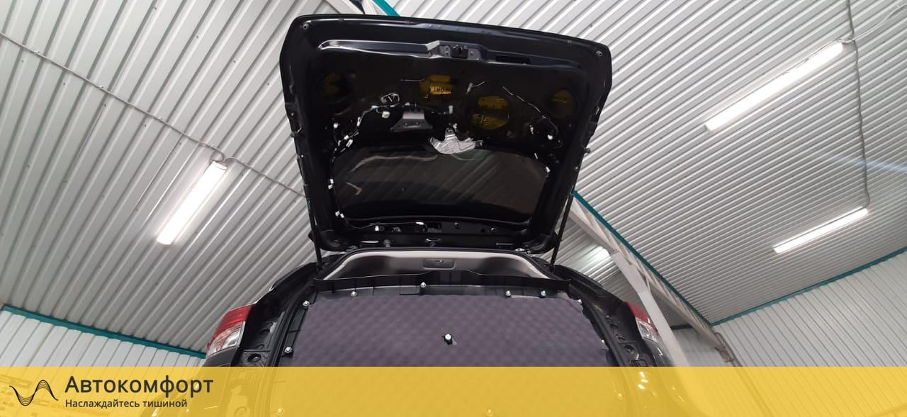 Шумоизоляция багажника Toyota Fortuner II   Тойота Фортунер 2
