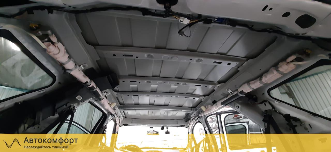 Шумоизоляция потолка (крыши) Ford Explorer 5 | Форд Эксплорер V