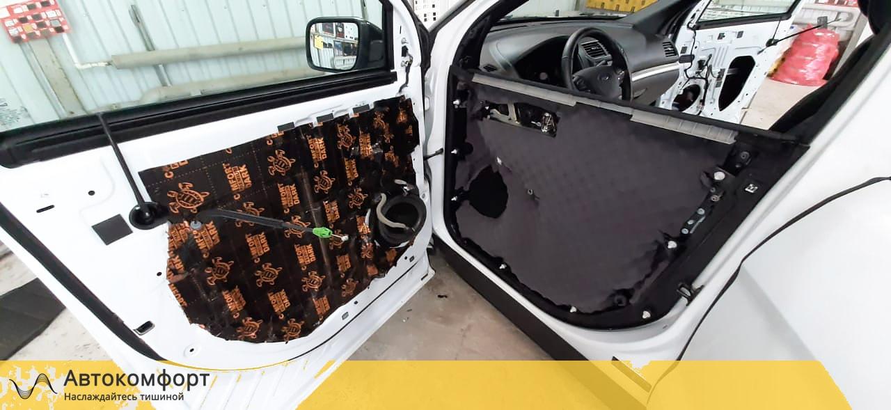 Шумоизоляция дверей Ford Explorer 5 | Форд Эксплорер V