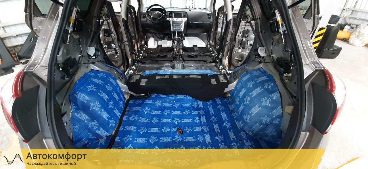 Шумоизоляция багажника Nissan Murano Z51 | Ниссан Мурано З51